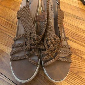 Wedged heels